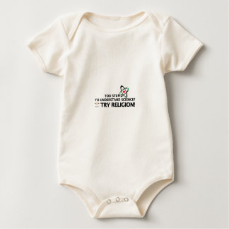 Funny Science VS Religion Baby Bodysuit