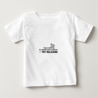Funny Science VS Religion Baby T-Shirt