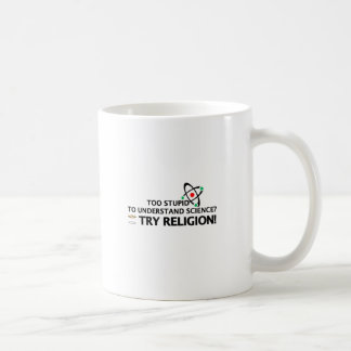 Funny Science VS Religion Coffee Mug