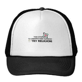 Funny Science VS Religion Trucker Hat