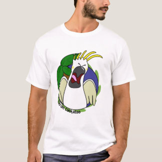 Funny Screaming Citron Cockatoo T-Shirt