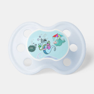 Funny Sea Creatures on BooginHead® Pacifier
