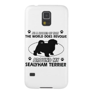 Funny sealyham terrier designs cases for galaxy s5