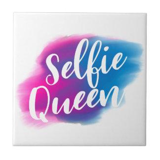 Funny Selfie queen Tile