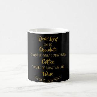 Funny Serenity Prayer Mug Chocolate Coffee Wine