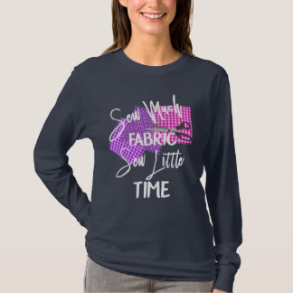 Funny Sewing Themed Slogan Statement T-Shirt