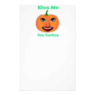 Funny Sexy Pumpkin Stationery