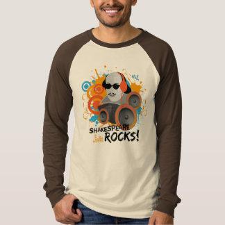 Funny Shakespeare Rocks Guys Tshirt Gift