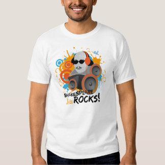 Funny Shakespeare Rocks Tee Shirt Gift