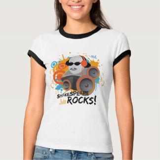 Funny Shakespeare Rocks Womens Tee Shirt Gift