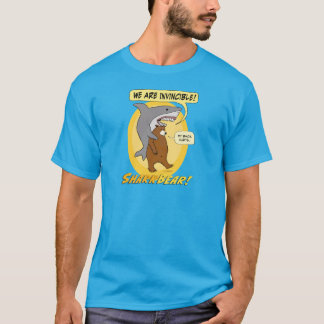 Funny Shark and Bear T-shirt