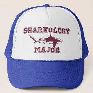 Funny Shark Major Trucker Hat