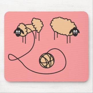 Funny Sheep Mousepad