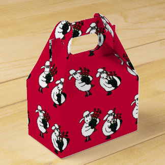 Funny Sheep Playing Bagpipes Gift Box