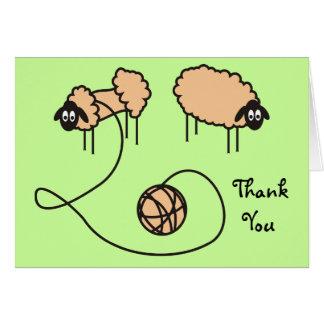 Funny Sheeps Card