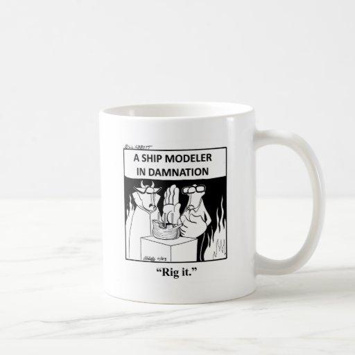 Funny Ship Model Cartoon Mug!
