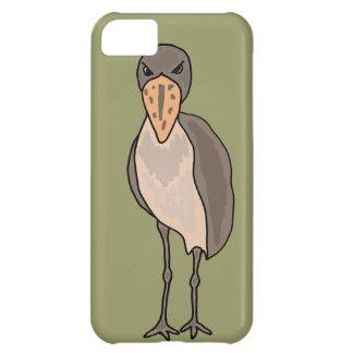 Funny Shoebill Bird Design iPhone 5C Cases