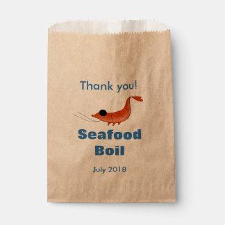 Funny Shrimp Favor Bag