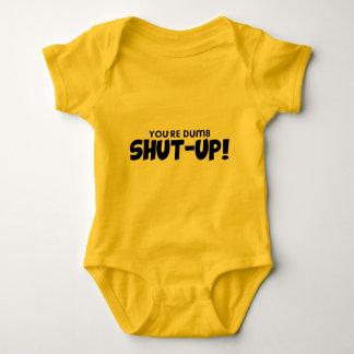 Funny, Shut up Baby Bodysuit