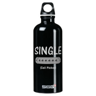 Funny Single Coil Pickup Guitar Water Bottle
