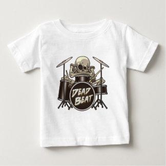 Funny Skeleton Drummer Baby T-Shirt
