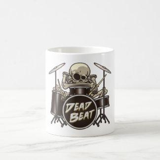 Funny Skeleton Drummer Coffee Mug