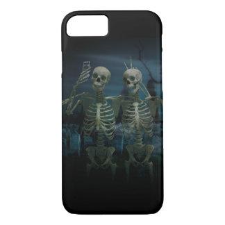 Funny Skeleton Selfie iPhone 7 Case
