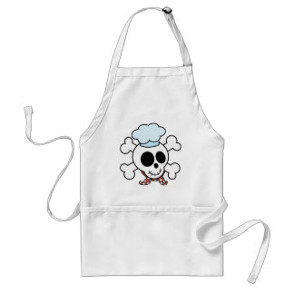 Funny Skull and Crossbones Chef Standard Apron