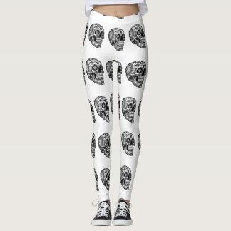 Funny Skull Leggings
