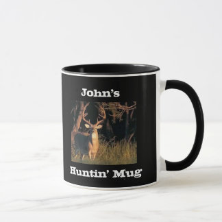 Funny Slogan Customized Name Hunting Mug