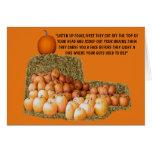 Funny slogan Halloween Card