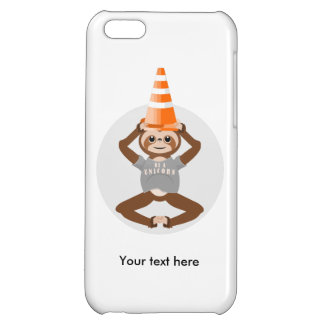Funny Sloth Be A Unicorn iPhone 5C Cover