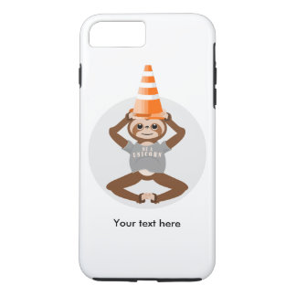 Funny Sloth Be A Unicorn iPhone 7 Plus Case
