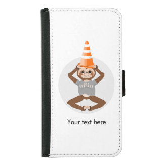 Funny Sloth Be A Unicorn Samsung Galaxy S5 Wallet Case