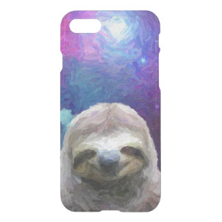 Funny Sloth Meme On Galaxy iPhone 7 Case