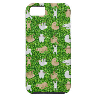 funny sloths iPhone 5 case