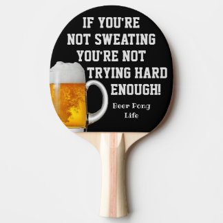 Funny Smack Talk Beer Ping Pong Paddle