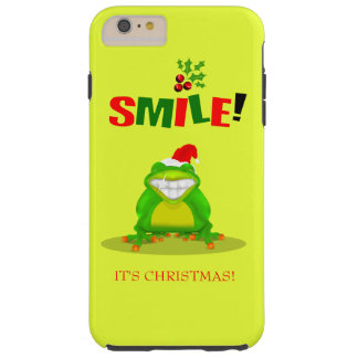 Funny Smile Its Christmas Frog Iphone 6 Case