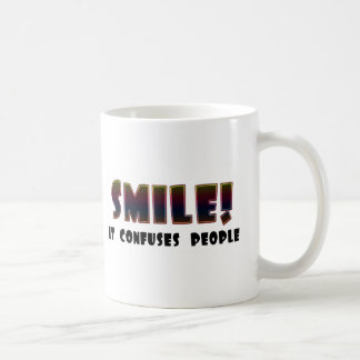 Funny Smile T-shirts Gifts Coffee Mugs