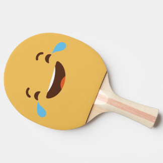 Funny Smiley Face. Emoji. Emoticon. Ping Pong Paddle