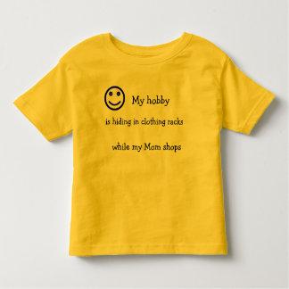 Funny smiley face toddler shirt