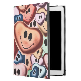 "Funny smiling hearts B iPad Pro 12.9"" Case"