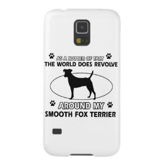 Funny smooth fox terrier designs galaxy s5 cases