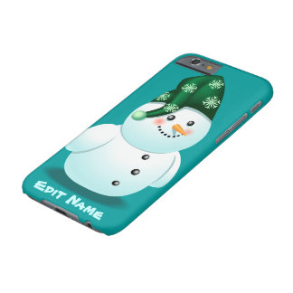 Funny Snowman Barely There iPhone 6 Case