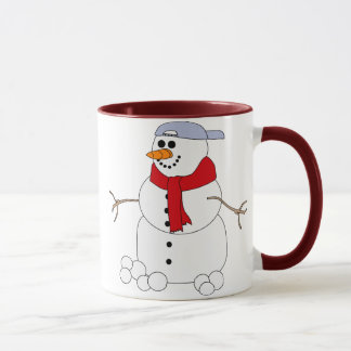 Funny Snowman Coffee Cup