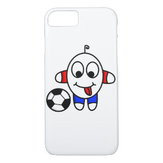 funny soccer dude iPhone 8/7 case
