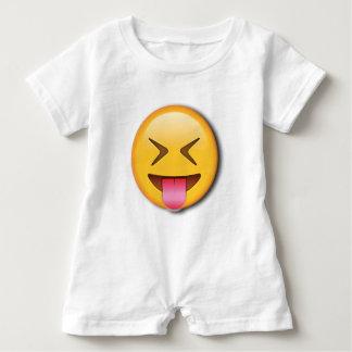 Funny Social Emoji Baby Romper