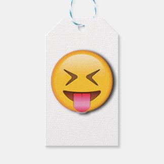 Funny Social Emoji Gift Tags