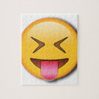 Funny Social Emoji Jigsaw Puzzle