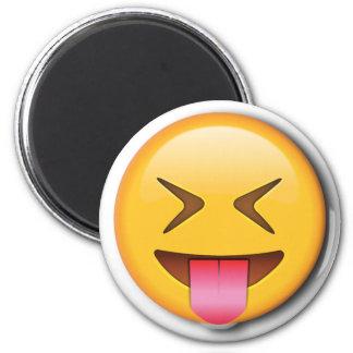 Funny Social Emoji Magnet